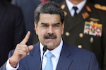 United States indicts Venezuela's Maduro on narco-terrorism charges