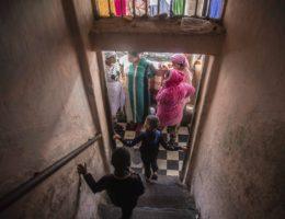 AP PHOTOS: Virus haunts the destitute living on the margins