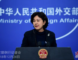 China Advises Foreign Diplomats To Stay Away