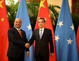 China meets its limits in Micronesia