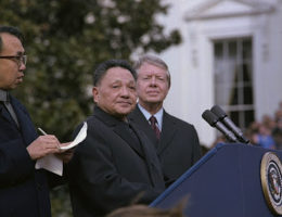 Chinese Leader Deng Xiaoping Objected To A Second North Korea Invasion Of South Korea