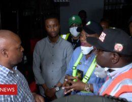 Coronavirus in Lagos: Enforcing lockdown in Africa's biggest city