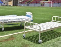 Inside Nigeria's 'isolation stadium'