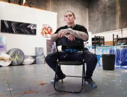'My art, it's my purpose in life': Dayne Beams finding peace away from AFL
