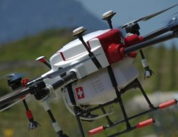 Swiss made disinfection drones by Boschung Global to combat COVID-19