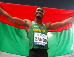 Triple jump star Zango's 1-2-3 of lockdown life