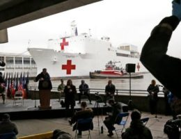 USNS Comfort crew member tests positive for coronavirus