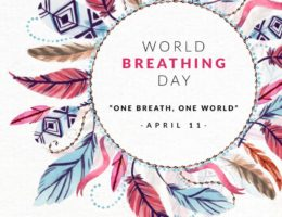 WORLD BREATHING DAY is on April 11, 2020. Hit the PAUSE Button and BREATHE with us