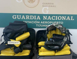 2 Arrested at TJ Airport Carrying over 47 Kilos of Meth from Culiacán, Sinaloa had US ID