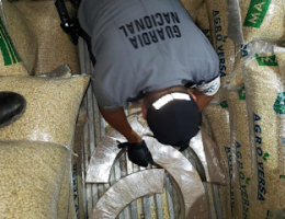 740 Kilos Of Meth Found among Corn Bags in Chihuahua