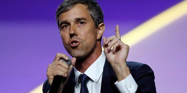 Former U.S. Rep. Beto O'Rourke, D-Texas, speaks during a candidates forum at the 110th NAACP National Convention in Detroit, July 24, 2019.(Associated Press)