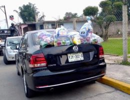"""CJNG members arrested while distributing Covid 19 """"pantries"""""""
