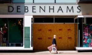 Coronavirus: Debenhams makes some restaurant employees redundant