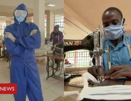 Coronavirus in Africa: Kenya's students making PPE kits