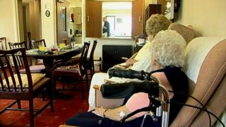 Care home for the elderly