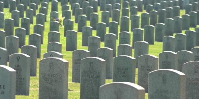 Florida National Cemetery in Bushnell, Fla., is one of the nation's busiest National Cemeteries. Staffers estimate that between 6,500 and 7,000 interments occur here every year (Robert Sherman, Fox News).
