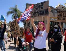 Huntington Beach sees more protests in response to coronavirus restrictions: report