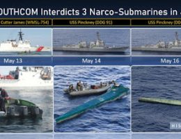 In Four Days The U.S. Navy Seized 3 Narco Subs This Month