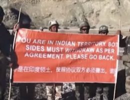 Indian Army To Chinese Army 'Please Go Back'