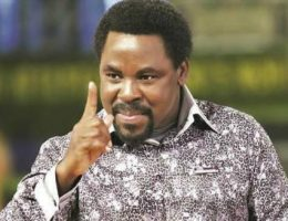 Learn From China, TB Joshua Tells United States