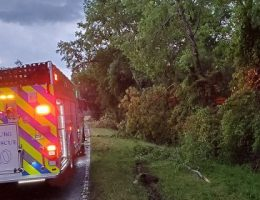 Lightning from severe storms in Carolinas blamed for 1 death, several house fires