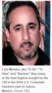 Mexico arrests Luis 'El Tio' Mendez, last FBI fugitive in US Consulate murders in Juárez