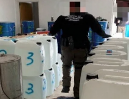 Mexico seizes massive stash of liquid meth, 8000 gallons of precursor chemicals for synthetic drugs