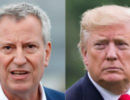 NYC Mayor de Blasio pushes back on Trump's insistence at reopening churches, calls the move 'dangerous'