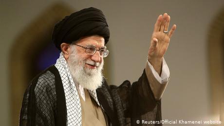 Iran Ali Chamenei während einer Rede in Teheran (Reuters/Official Khamenei website)