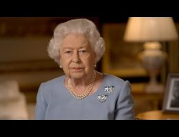 Queen Elizabeth Addresses The Nation To Mark 75th Anniversary Of The End Of World War ll