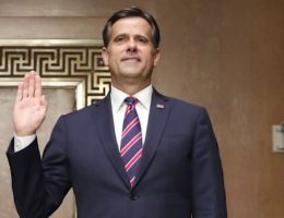 Ratcliffe sworn in as director of national intelligence