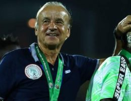 Rohr: 'Nigeria are not number one in Africa'