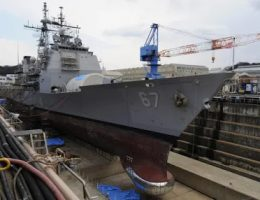 The U.S. Navy Continues To Struggle To Repair Ships On Time