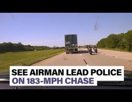 US Airman Leads Policeman On 183-MPH Chase