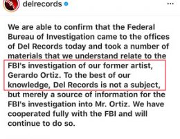 Videos:California FBI agents raid offices of Ángel del Villar, Del Records claim it is concerning Gerardo Ortiz