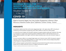 World: WFP Regional Bureau for the Middle East, North Africa (MENA), Central Asia & Eastern Europe COVID-19 Situation Report #7, 1 - 14 May 2020