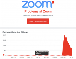 Zoom users suffer outages in Europe, Middle East and US