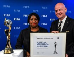 Australia and New Zealand will host 2023 FIFA Women's World Cup