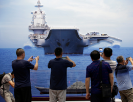 China's Navy Wants Sea Control By 2030, Superiority By 2049