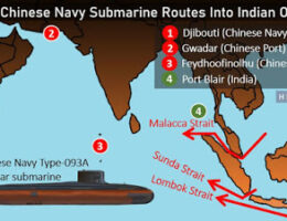Chinese Submarines May Become A Permanent Fixture In The Indian Ocean