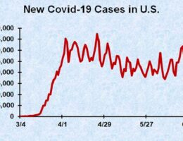 Covid-19 Case Growth Not Significant For Most Of The United States