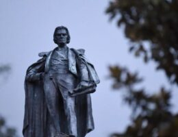 Crews in South Carolina begin process to remove John C. Calhoun statue