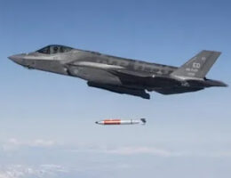 First Photos Of The F-35A Jets Dropping Inert B61-12 Nuclear Bombs During DCA Tests