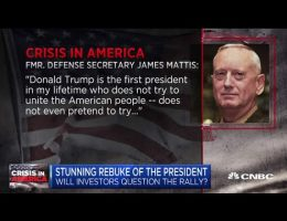 Former Defense Secretary Jim Mattis Compares Donald Trump To NAZIS And Violating The U.S. Constitution