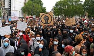 George Floyd death: Thousands join London protest
