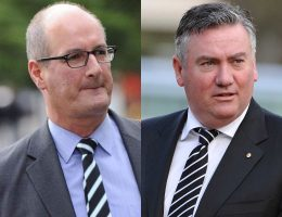 Koch hits back at McGuire over Power's push to wear prison bar guernsey