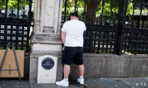 Man charged over urinating at PC Keith Palmer memorial