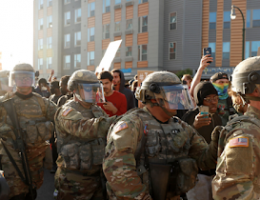 National Guardsmen Deployed To Quell Riots In Minnesota Are Testing Positive For The Covid-19 Coronavirus