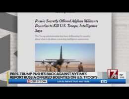 NATO Officials Say They Were Briefed On Russian Bounties On U.S. Soldiers In Afghanistan