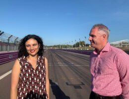 NT Tourism Minister welcomes return of Darwin supercars